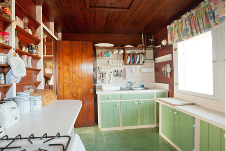 Wonderful kitchen includes all you need to prepare meals, light snacks or entertain at your own barbecue.